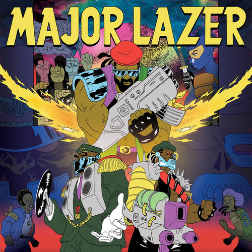 Major Lazer – Light It Up (feat. Nyla)