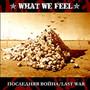What We Feel – Последняя Война