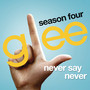 Never Say Never (Glee Cast Version) - Single