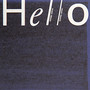 hello – hello