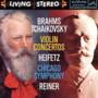 Jascha Heifetz – Brahms, Tchaikovsky: Violin Concertos