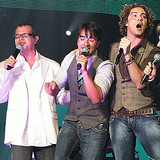 Luis Fonsi, David Bisbal, Noel y Alex Sintek