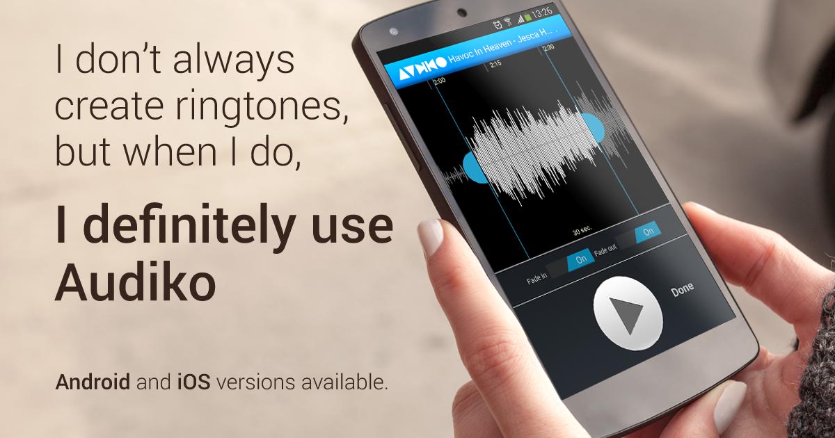 audiko gratuit pour iphone